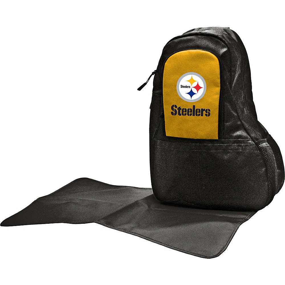 Lil Fan NFL Sling Bag Pittsburgh Steelers Lil Fan Diaper Bags Accessories