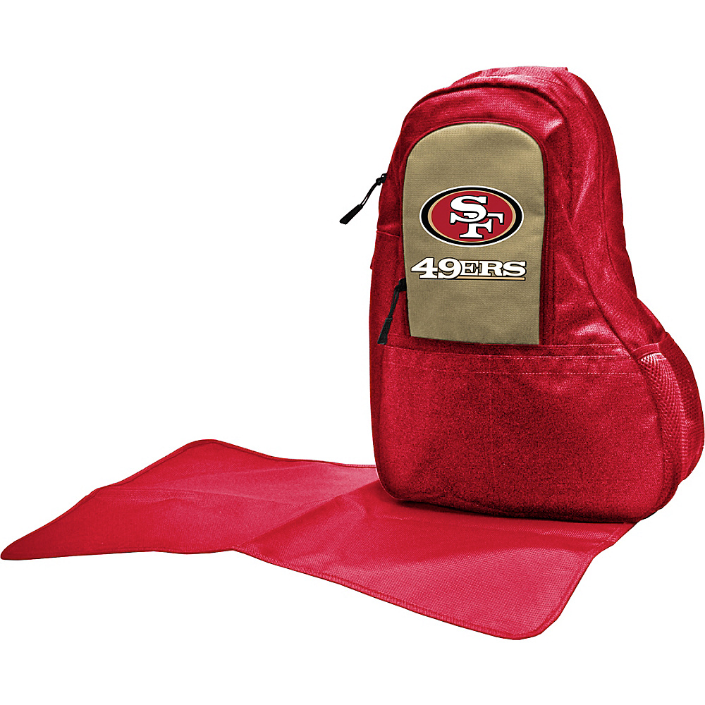 Lil Fan NFL Sling Bag San Francisco 49ers Lil Fan Diaper Bags Accessories