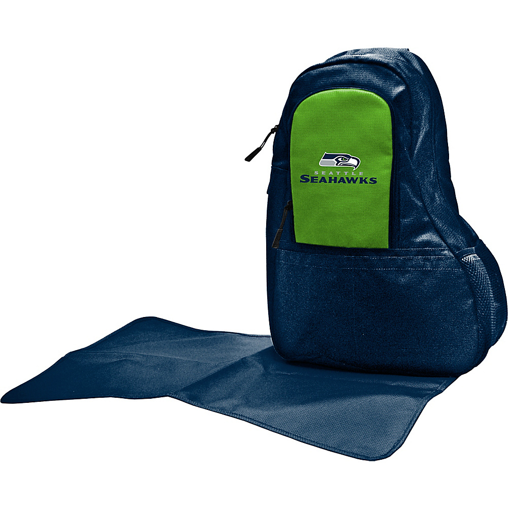 Lil Fan NFL Sling Bag Seattle Seahawks - Lil Fan Diaper Bags & Accessories