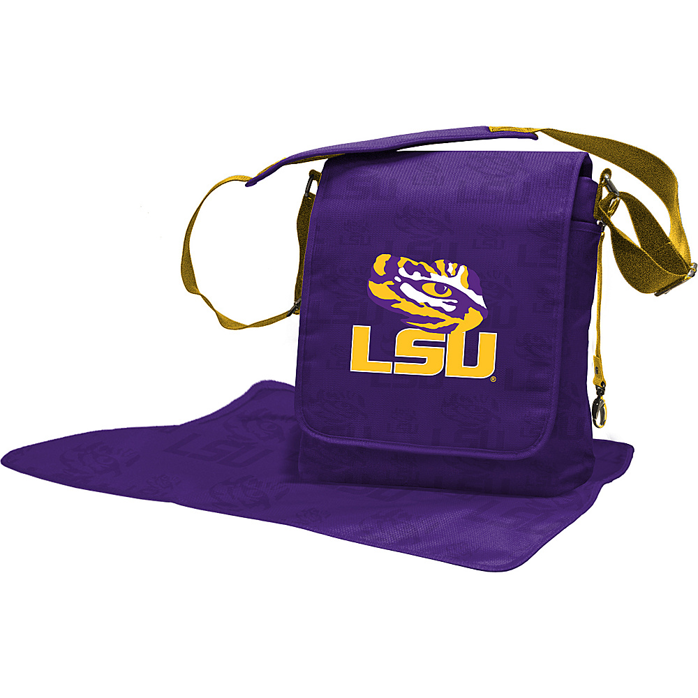 Lil Fan SEC Teams Messenger Bag Louisiana State University - Lil Fan Diaper Bags & Accessories