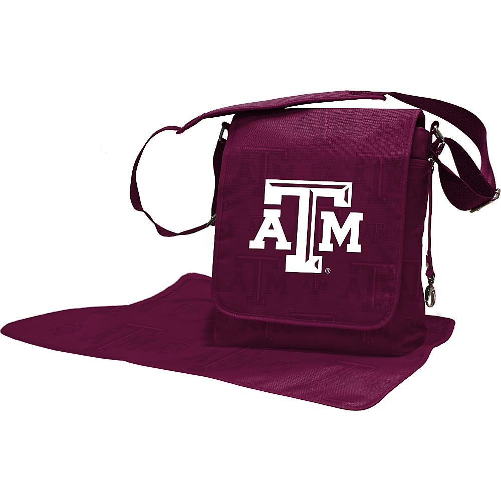 Lil Fan SEC Teams Messenger Bag Texas A & M University - Lil Fan Diaper Bags & Accessories