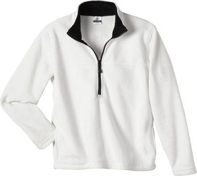Colorado Clothing Womens Classic Fleece Pullover L - White - Colorado Clothing Women's Apparel