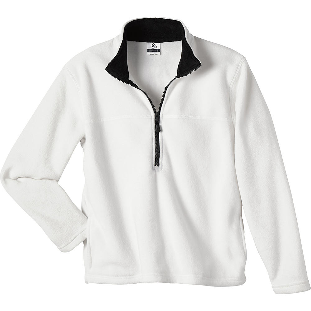 Colorado Clothing Womens Classic Fleece Pullover XL White Colorado Clothing Women s Apparel