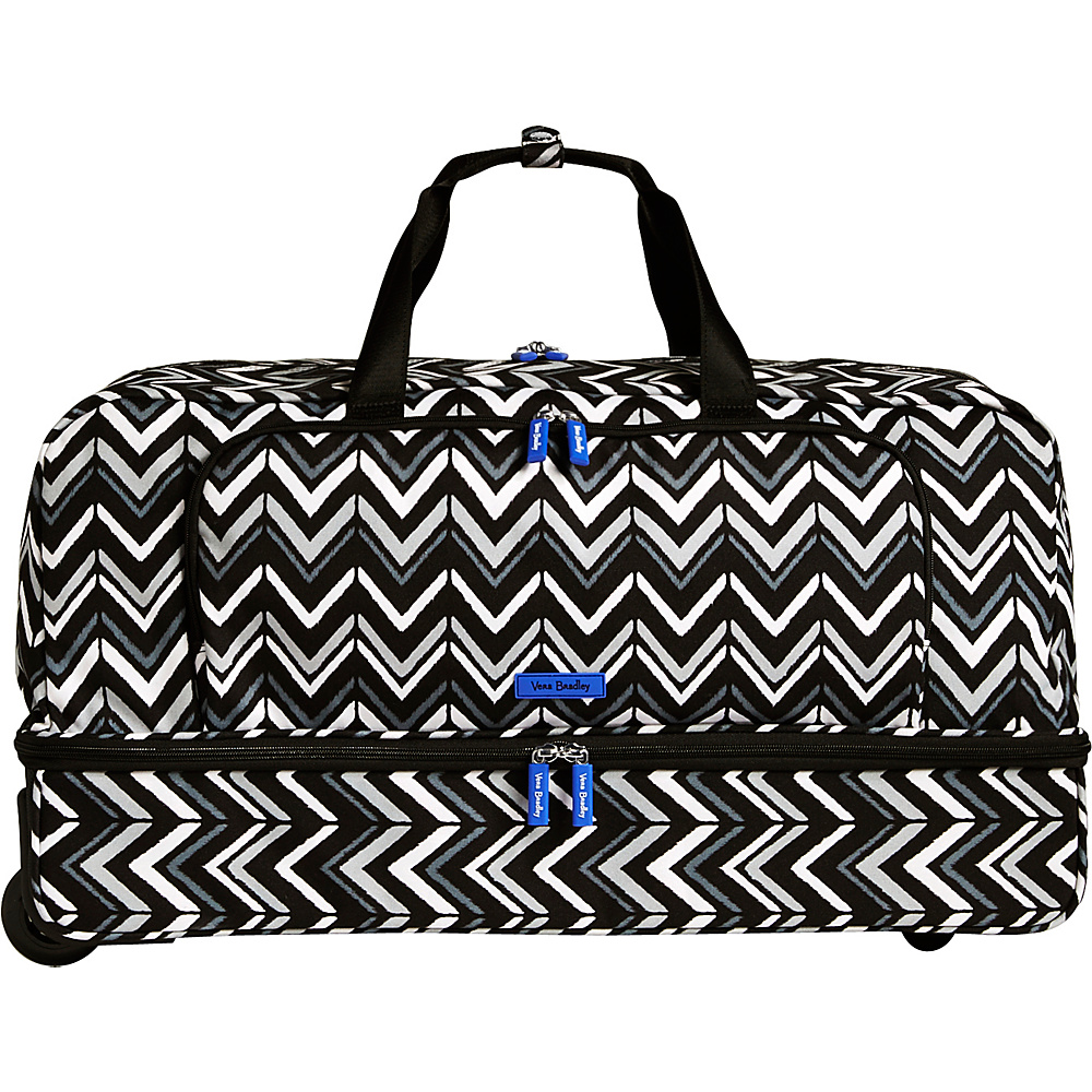 Vera Bradley Lighten Up Large Wheeled Duffel Cuban Tiles - Vera Bradley Rolling Duffels - Luggage, Rolling Duffels
