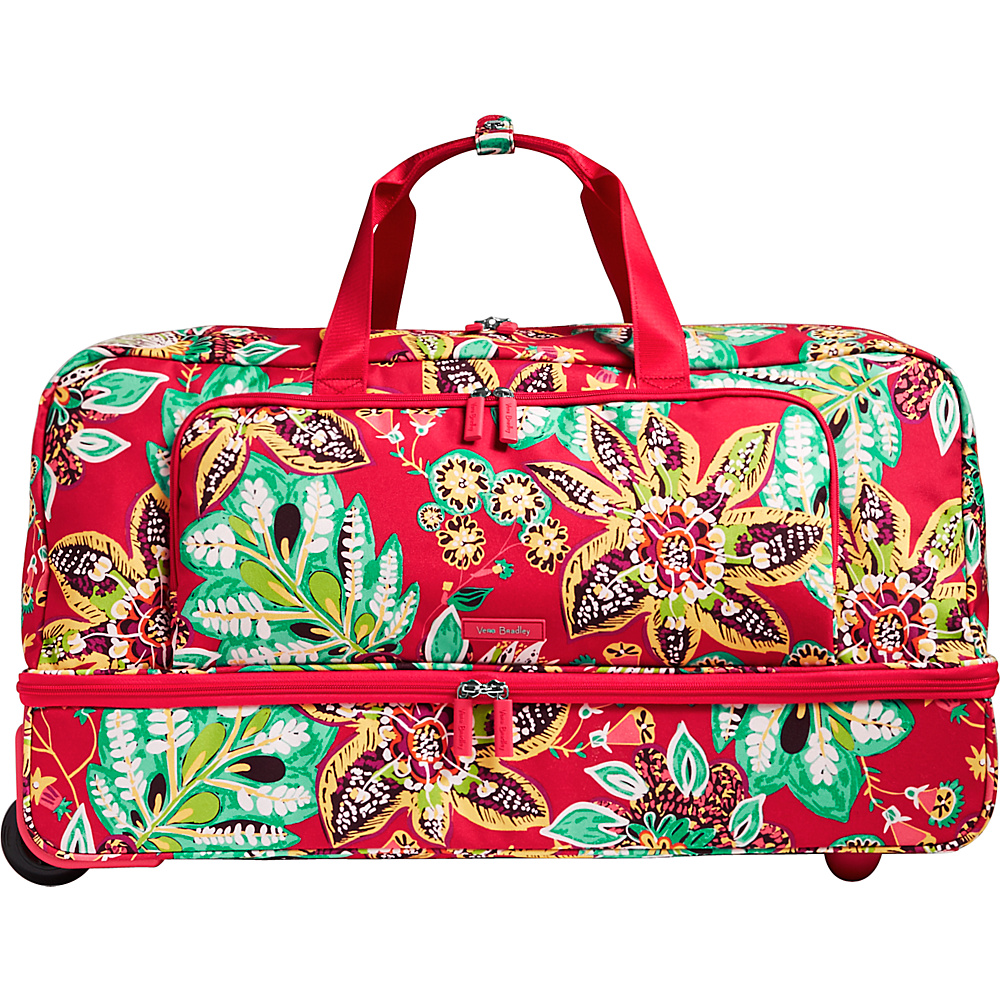 Vera Bradley Lighten Up Large Wheeled Duffel Rumba - Vera Bradley Rolling Duffels - Luggage, Rolling Duffels