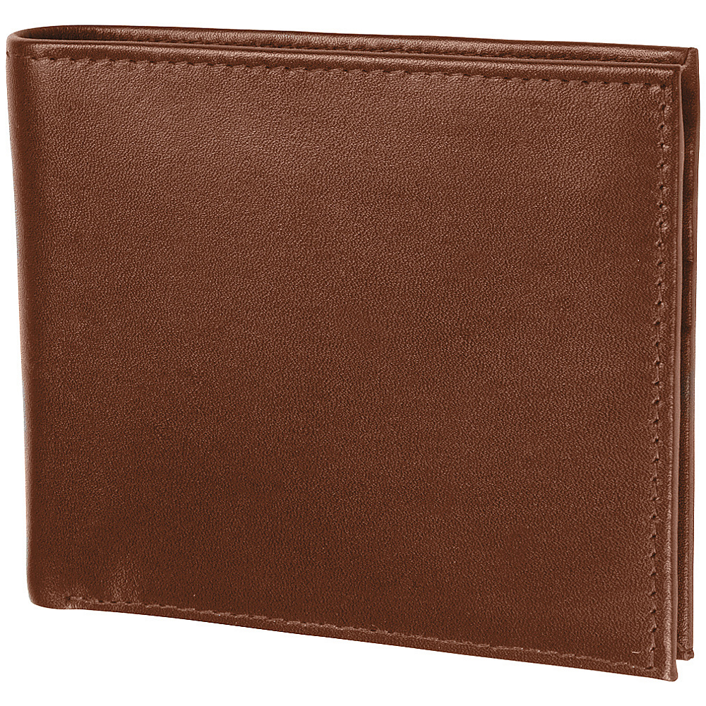 Access Denied Men s RFID Blocking Wallet Leather Bifold Slim Tan Smooth Access Denied Men s Wallets