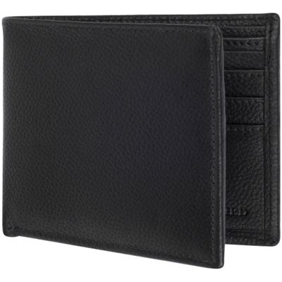 Access Denied Men's RFID Blocking Wallet Leather Bifold Slim Black Smooth - Access Denied Men's Wallets