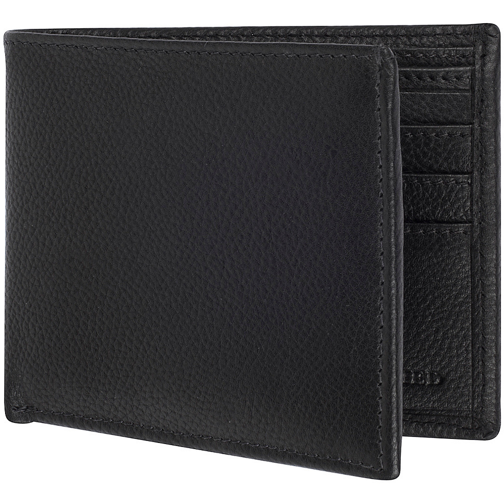 Access Denied Men s RFID Blocking Wallet Leather Bifold Slim Black Smooth Access Denied Men s Wallets