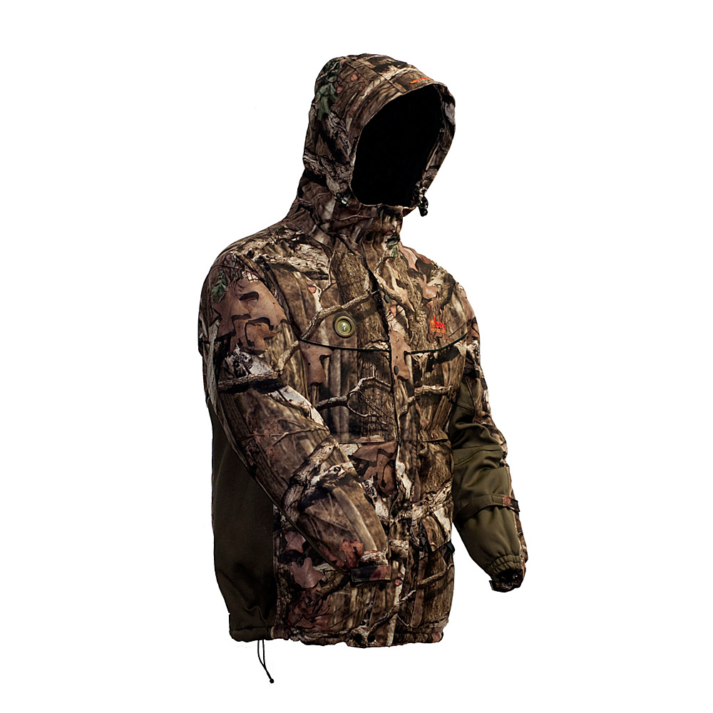 My Core Control Heated Hunting Parka M Mossy Oak Infinity Break Up Camo My Core Control Men s Apparel
