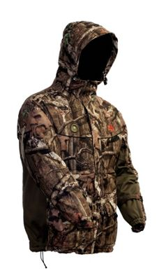 My Core Control Heated Hunting Parka L - Mossy Oak Infinity Break-Up Camo - My Core Control Men's Apparel