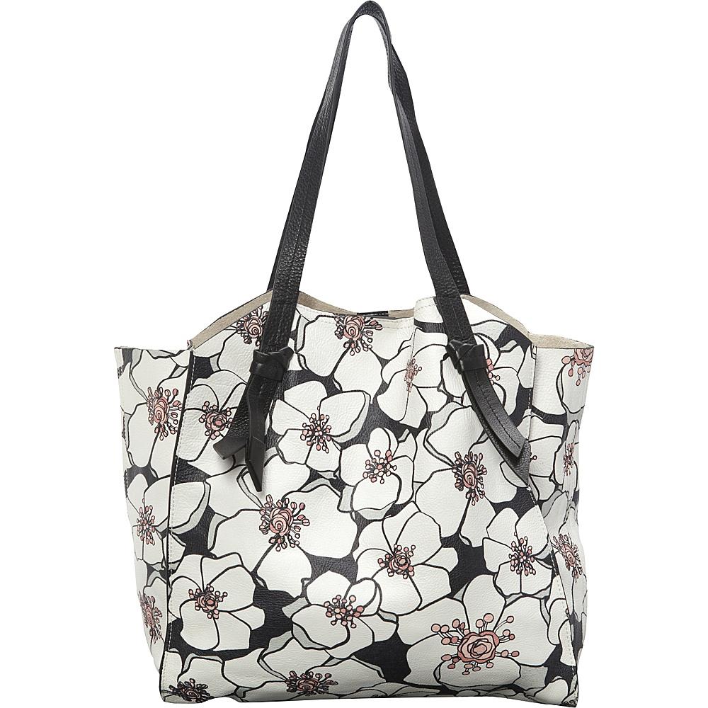 Foley Corinna Tye Tote Multi Floral Foley Corinna Designer Handbags