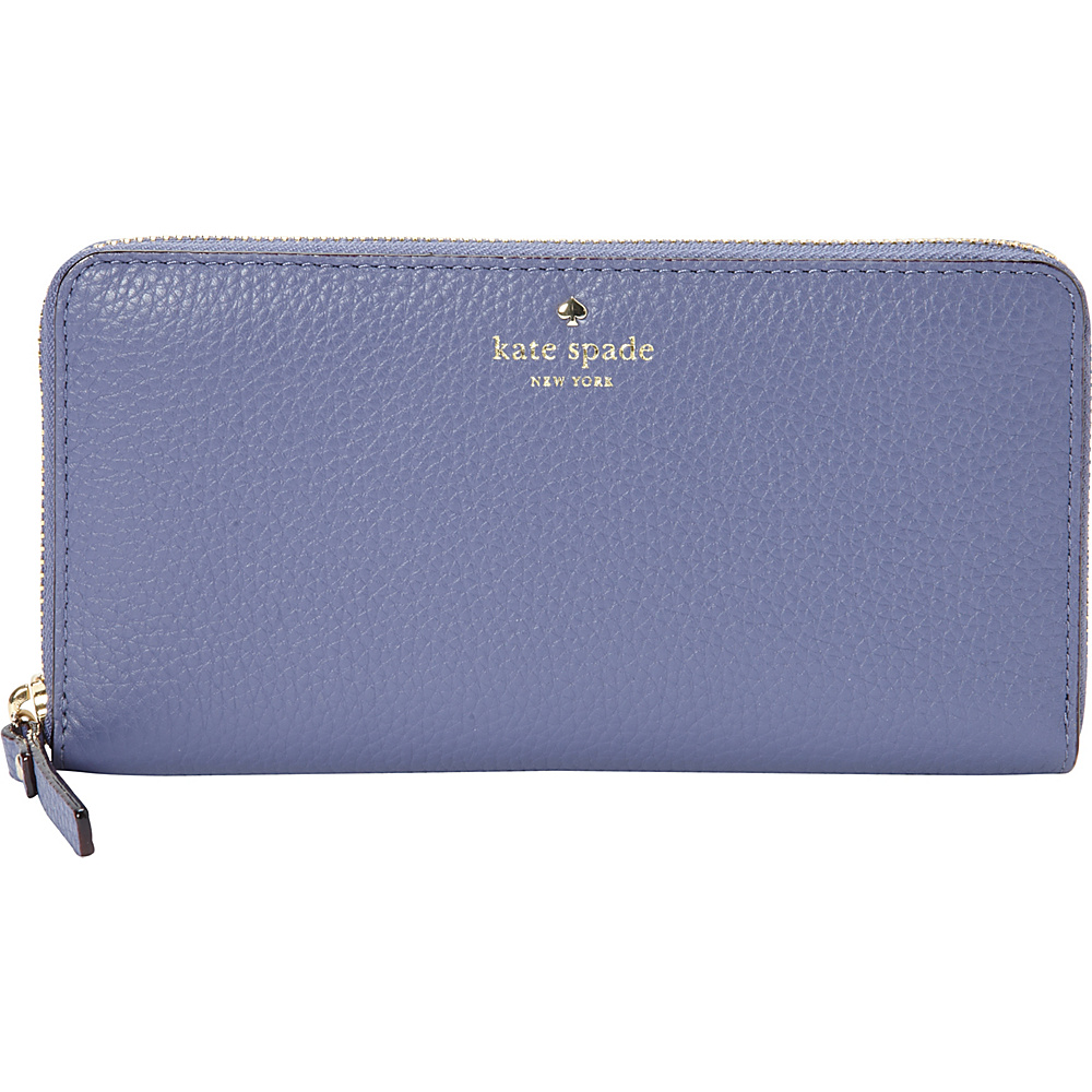 kate spade new york Cobble Hill Lacey Oyster Blue kate spade new york Women s Wallets
