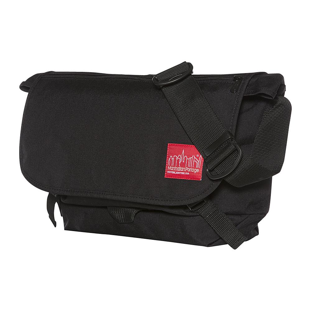 Manhattan Portage Quick Release Messenger (MD) Black - Manhattan Portage Messenger Bags - Work Bags & Briefcases, Messenger Bags