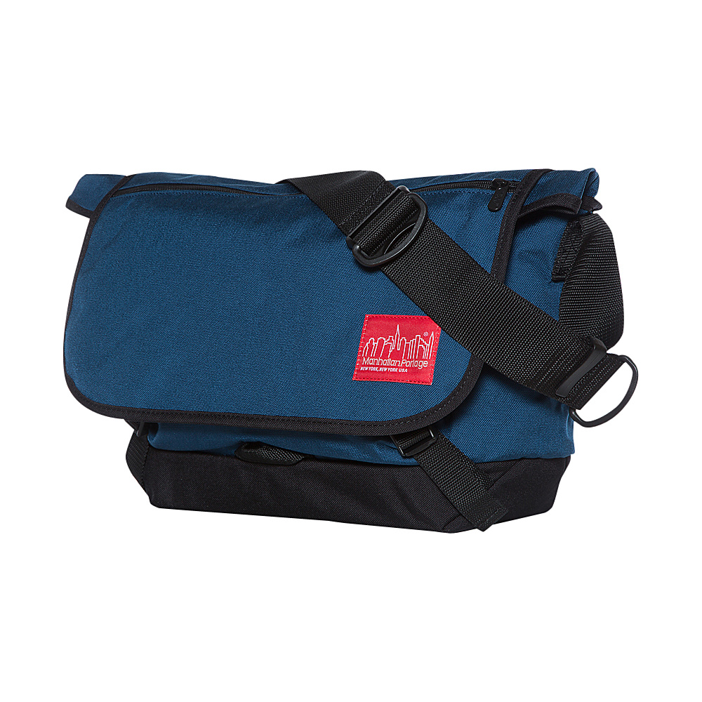 Manhattan Portage Quick Release Messenger (MD) Navy - Manhattan Portage Messenger Bags - Work Bags & Briefcases, Messenger Bags