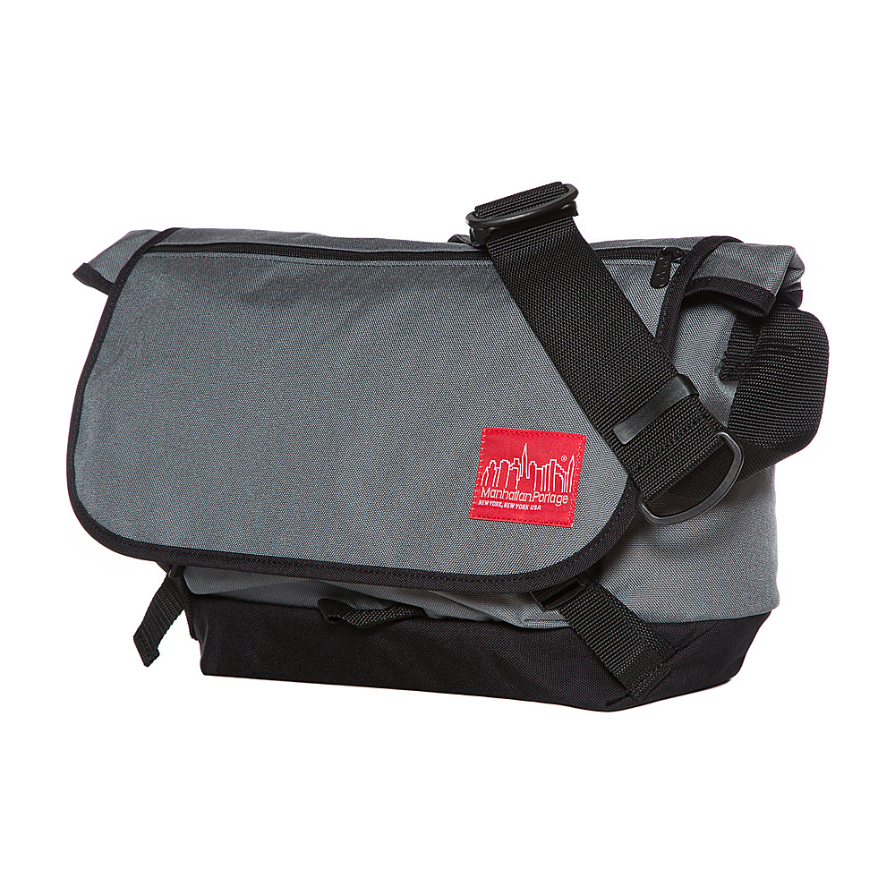 Manhattan Portage Quick Release Messenger (MD) Gray - Manhattan Portage Messenger Bags - Work Bags & Briefcases, Messenger Bags