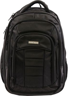 Perry Ellis M150 Business Laptop Backpack Black - Perry Ellis Business & Laptop Backpacks