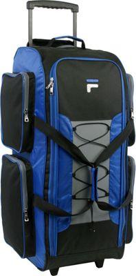 Fila 32 inch Lightweight Rolling Duffel Bag Blue - Fila Rolling Duffels