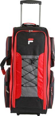 "Fila 32"" Lightweight Rolling Duffel Bag Red - Fila Rollin..."