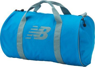 New Balance Barrel Duffel Electric Blue - New Balance Gym Duffels