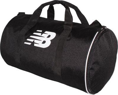 New Balance Barrel Duffel Black - New Balance Gym Duffels