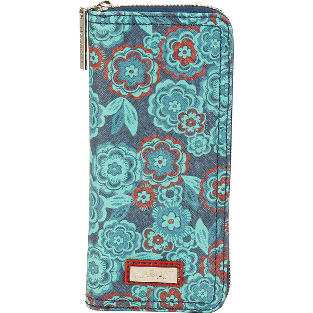 Hadaki Vegan Leather Money Pod Floral - Hadaki Womens Wallets - Women's SLG, Women's Wallets