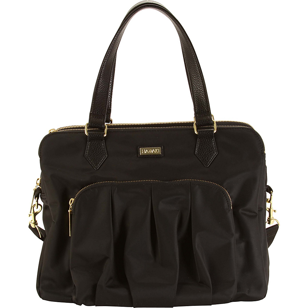 Hadaki The Ave Sac Black - Hadaki Fabric Handbags - Handbags, Fabric Handbags