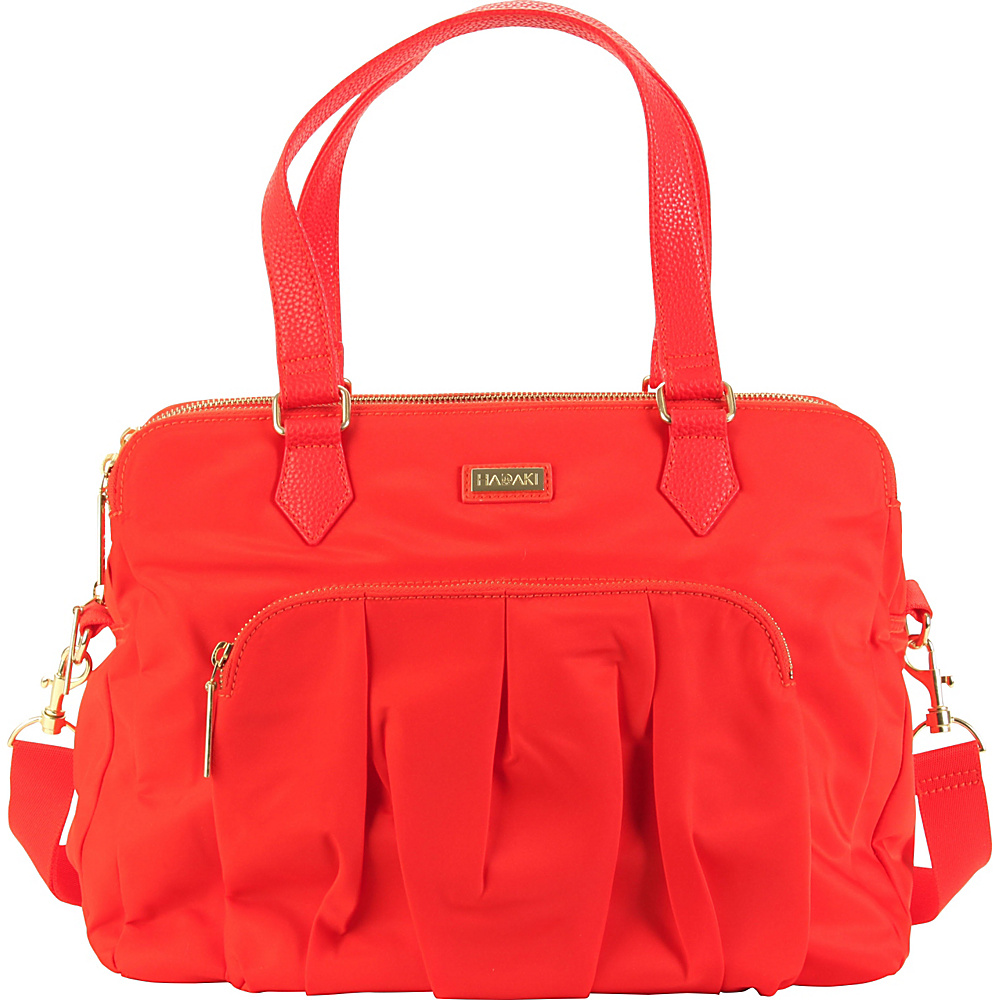 Hadaki The Ave Sac Fiery Red Solid - Hadaki Fabric Handbags - Handbags, Fabric Handbags