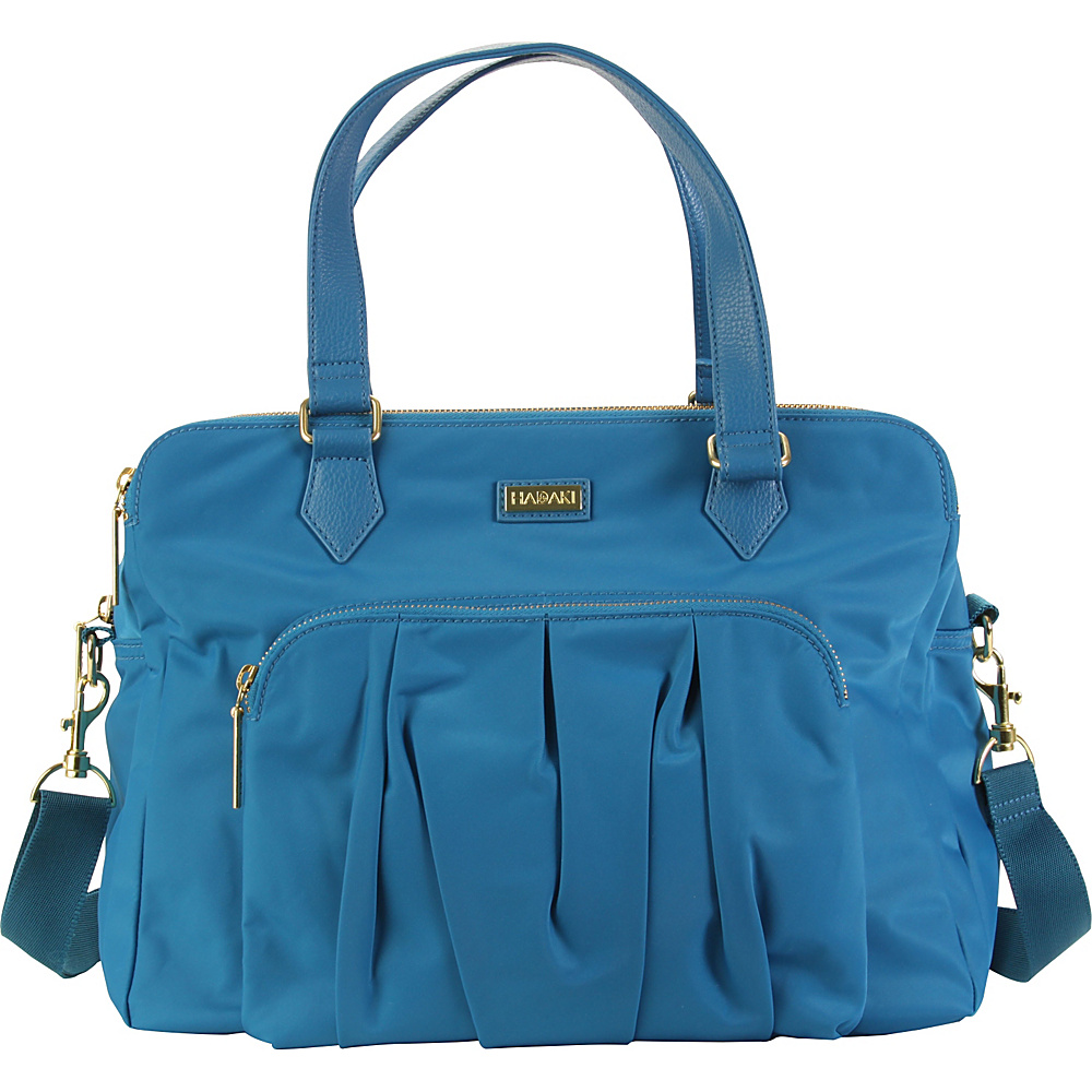 Hadaki The Ave Sac Ocean Solid - Hadaki Fabric Handbags - Handbags, Fabric Handbags