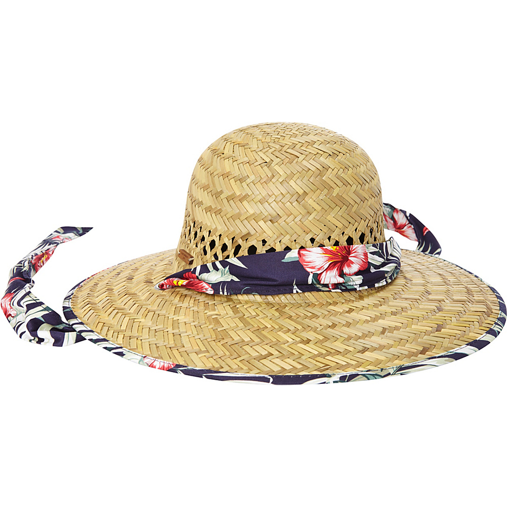 Caribbean Joe Accessories Beach Blossom Hat Navy - Caribbean Joe Accessories Hats/Gloves/Scarves