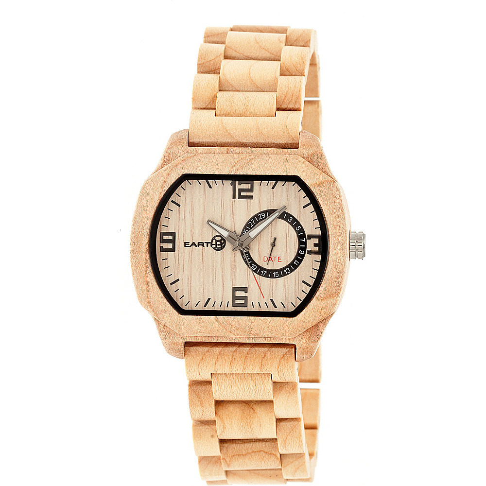 Earth Wood Scaly Wood Unisex Watch Khaki Tan Earth Wood Watches
