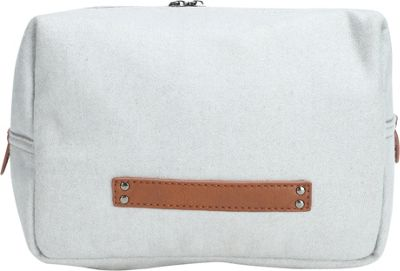 Something Strong Wool Toiletries Bag With 2 Inner Pockets Grey - Something Strong Toiletry Kits