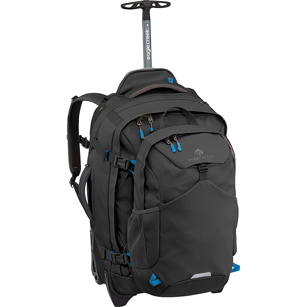 Eagle Creek Doubleback 22 Duffel Bag Black - Eagle Creek Wheeled Backpacks - Backpacks, Wheeled Backpacks