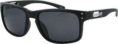 CB Sport Modified Retro Pilot Sunglasses Matte Black with Smoke Lenses - CB Sport Sunglasses