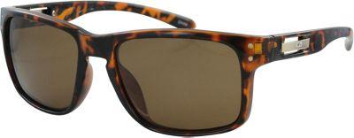 CB Sport Modified Retro Pilot Sunglasses Tortoise with Brown Lenses - CB Sport Sunglasses