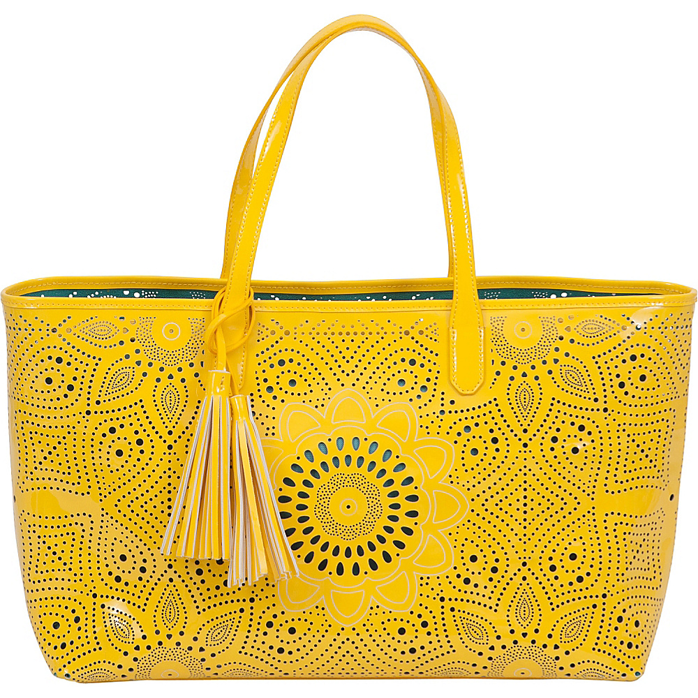 BUCO Sunflower Beach Tote Yellow - BUCO Manmade Handbags