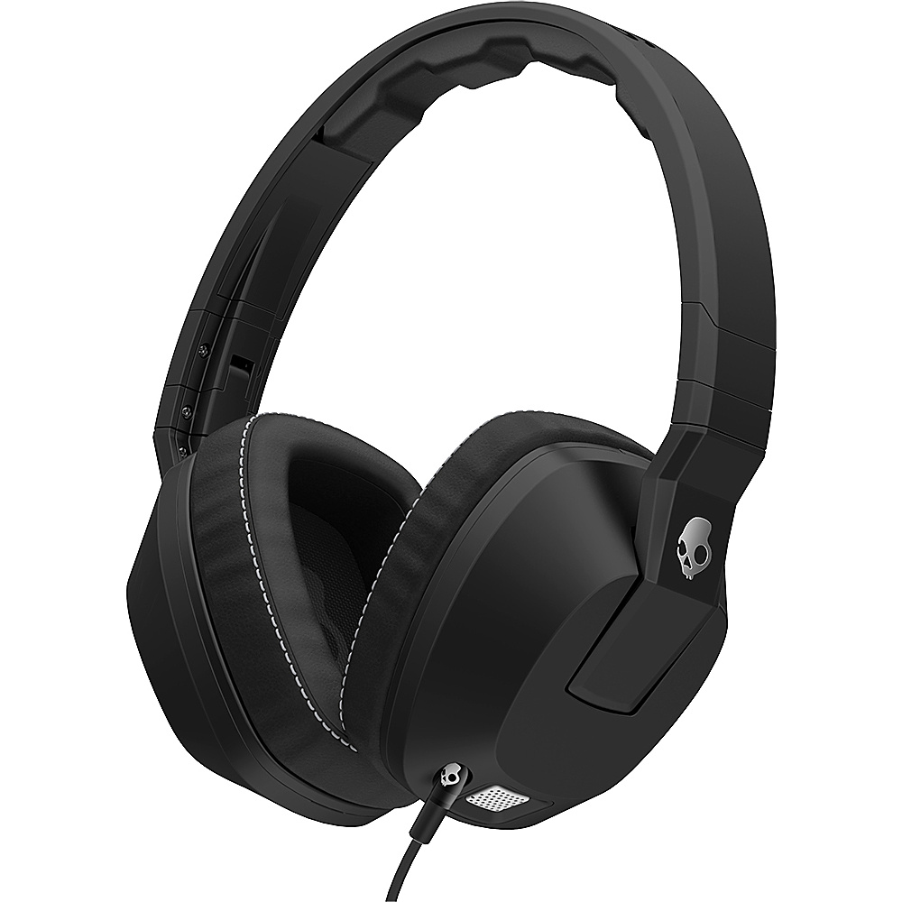 Skullcandy Ingram Crusher Over-the-Ear Headphones Black - Skullcandy Ingram Headphones & Speakers