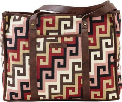 Image of Bella Taylor Ambrose Market Tote Pink - Bella Taylor Fabric Handbags