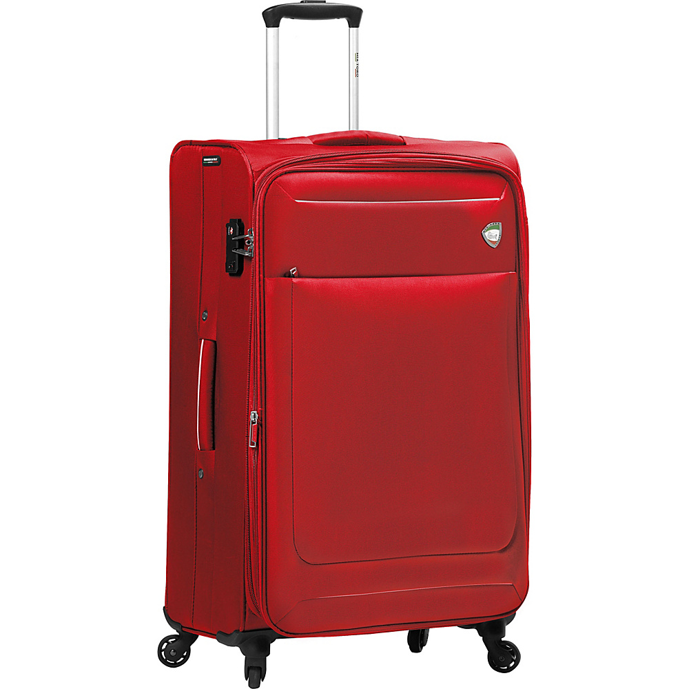 Mia Toro ITALY Corvara 28 Luggage Red Mia Toro ITALY Softside Checked
