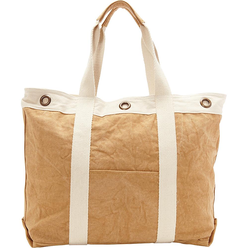Sun N Sand Inverness Tote Toast - Sun N Sand Fabric Handbags - Handbags, Fabric Handbags