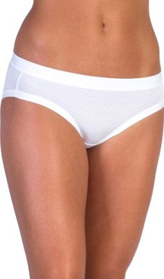 ExOfficio Give-N-Go Sport Mesh Bikini Brief L - White - ExOfficio Women's Apparel