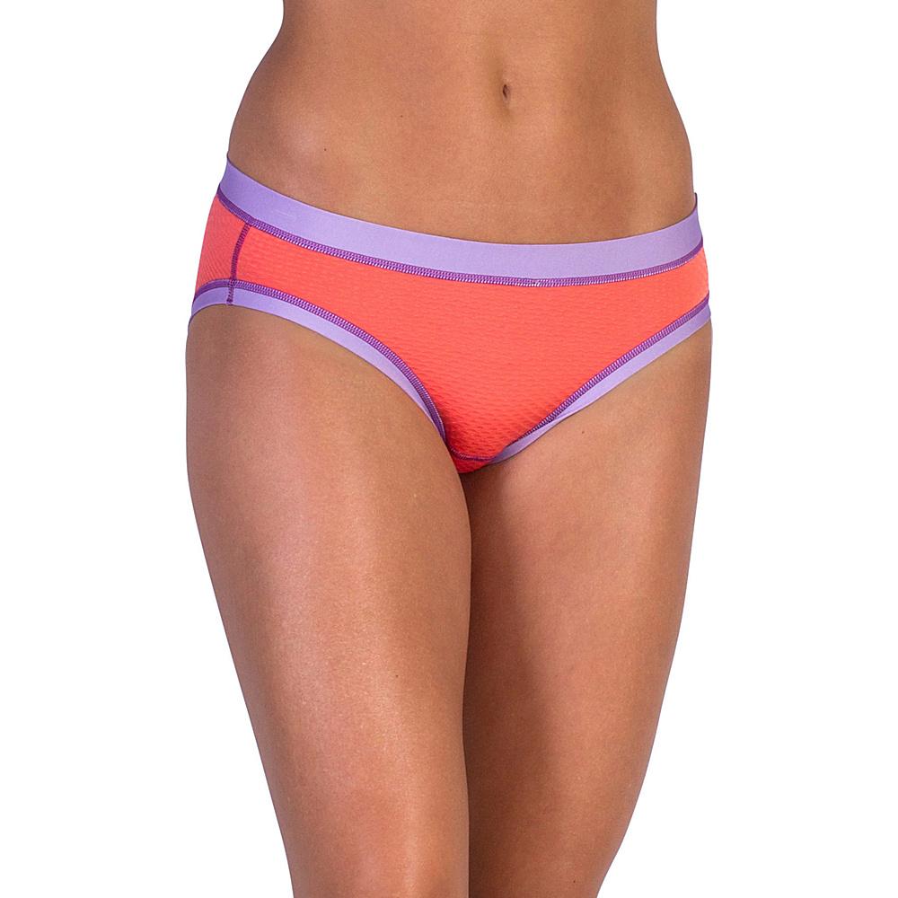 ExOfficio Give-N-Go Sport Mesh Bikini Brief L - Hot Coral - ExOfficio Mens Apparel - Apparel & Footwear, Men's Apparel
