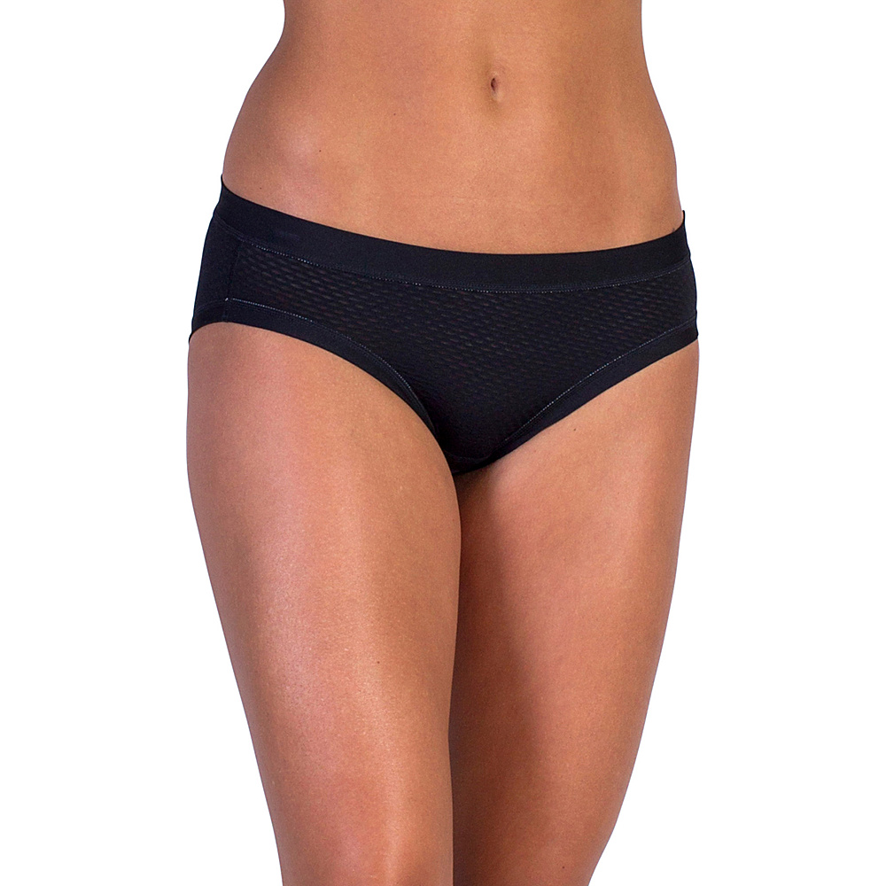 ExOfficio Give-N-Go Sport Mesh Bikini Brief S - Black - ExOfficio Womens Apparel - Apparel & Footwear, Women's Apparel