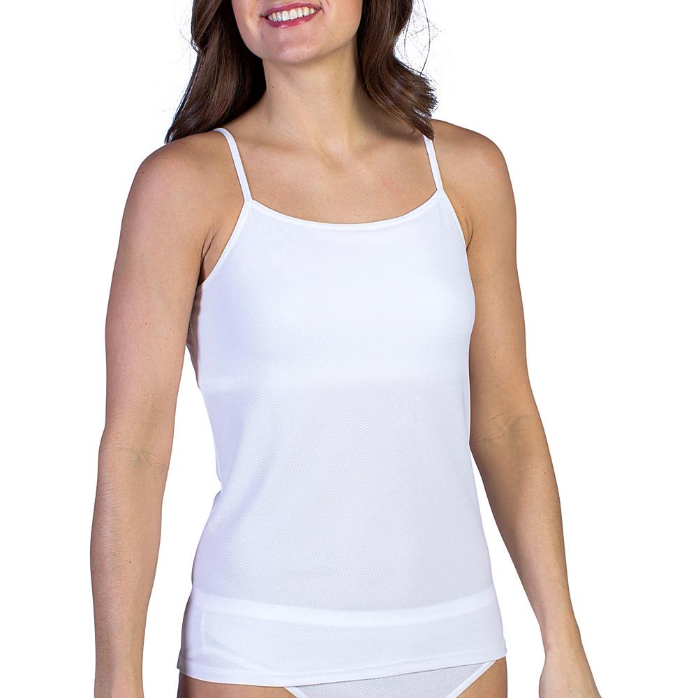 ExOfficio Give-N-Go Shelf Bra Camisole S - White - ExOfficio Womens Apparel - Apparel & Footwear, Women's Apparel