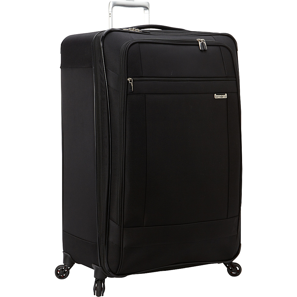 Samsonite SoLyte Spinner 29 Black Samsonite Softside Checked