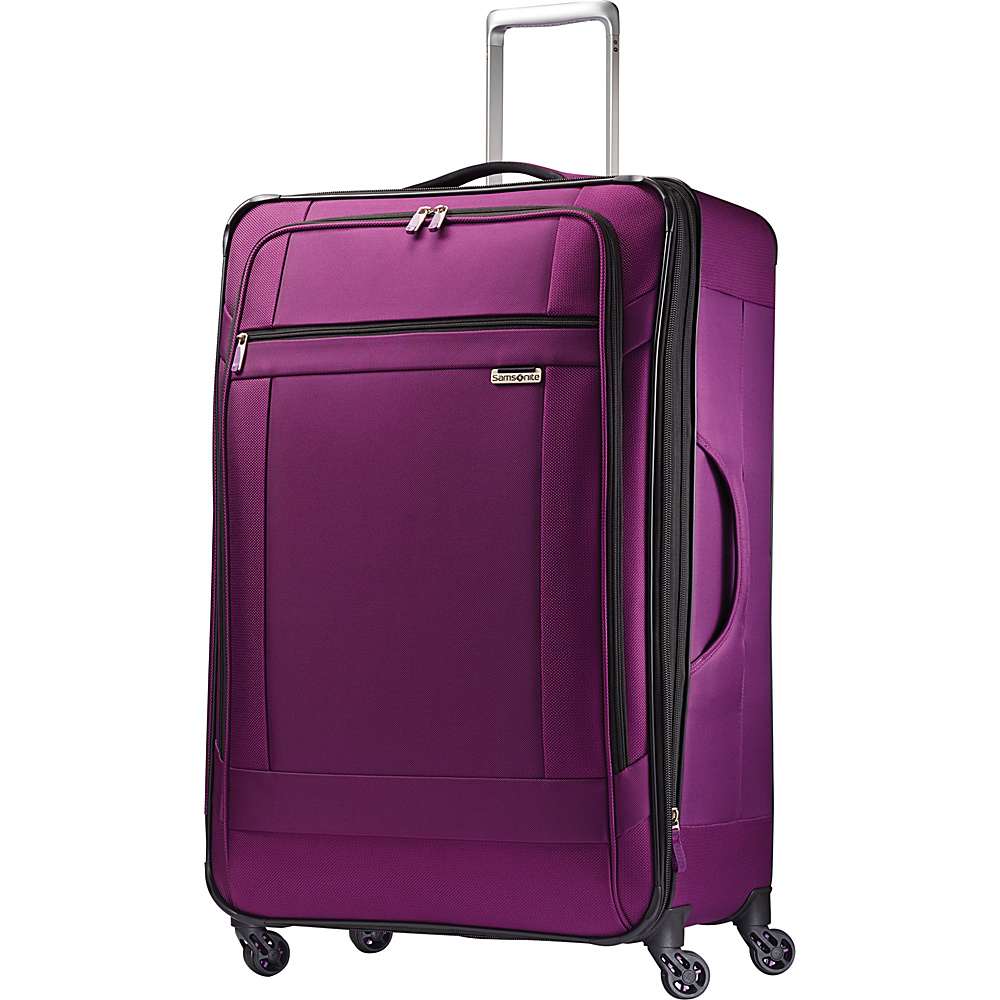 Samsonite SoLyte Spinner 29 Purple Magic Samsonite Softside Checked
