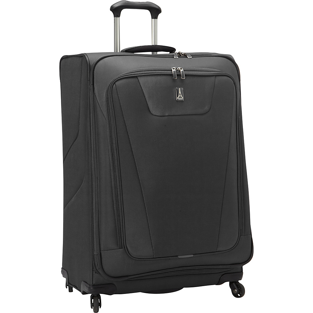 Travelpro Maxlite 4 29 Expandable Spinner Black Travelpro Softside Checked