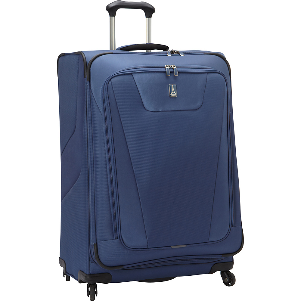 "Travelpro Maxlite 4 29"" Expandable Spinner Blue - Travelpro Softside Checked"