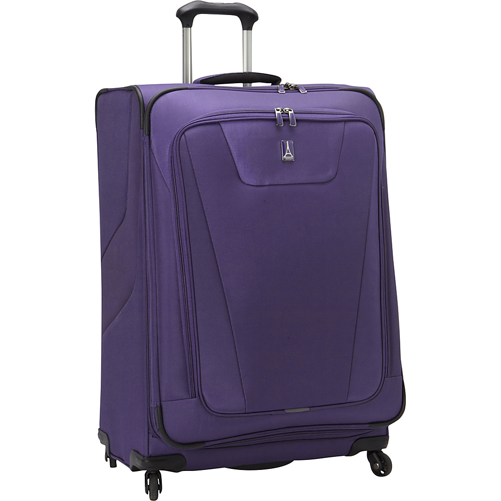 "Travelpro Maxlite 4 29"" Expandable Spinner Grape - Travelpro Softside Checked"