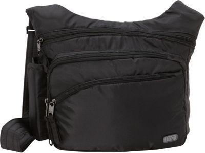 Lug RFID Sidekick Excursion Pouch Midnight Black - Lug Fabric Handbags