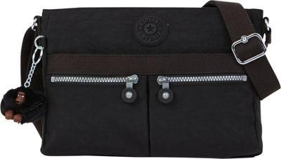 Kipling Angie Crossbody Black - Kipling Leather Handbags